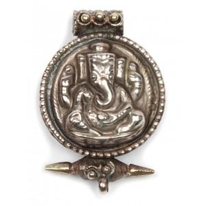 Pendant Ganesh Ghau medallion