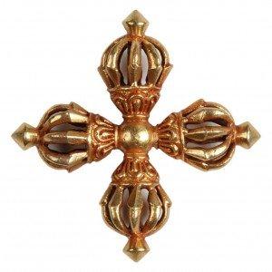 Nyingma Vishvavajra Vishvavajra gilt 5,6 cm