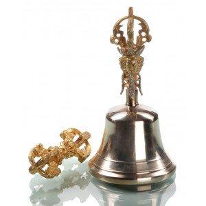 Ghanta-Set Bell and Dorje 18 cm