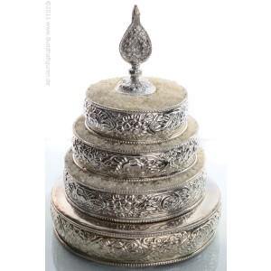 Mandala  brass - silver