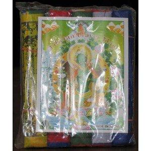 Prayer flag cotton (10 flags) 160 cm 5 pc