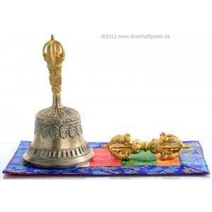 Ghanta Set - bell Lama quality 17 cm