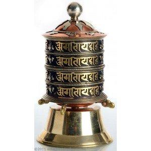 Table Prayer wheel copper - 15cm