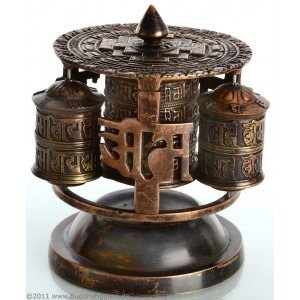 Table Prayer wheel 4 parts - 12 cm high