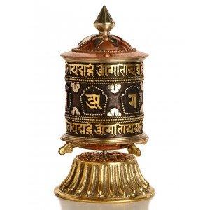 Table Prayer wheel copper - 15,5 cm 2