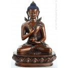 Amoghasiddhi 20 cm oxidized Buddha Statue