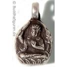 Silver Pendant Manjushri  25 mm