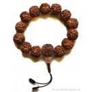 Hand-Mala Rudraksha beads 17 mm