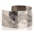 Bracelet (bangle) - width 35 mm Dragon