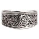 Bracelet (bangle) - width 32 mm filigree