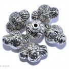 Silver colored Jewelery G - 6 pcs 13mm
