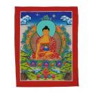 Thangka - Shakyamuni 23 x 30 cm