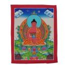Thangka - Buddhas Amitabha 23 x 29 cm
