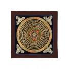 Thangka  - Mandala Shrivasta 26 x 26 cm