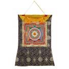 Thangka Yantra Tripura Bhairavi 66 x 83 cm