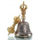 Ghanta Set - bell Nyingma style 16 cm-Ghanta Set Nyingmastyle 16 cm