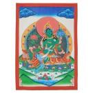 Thangka Grüne Tara gehobene Qualität