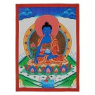 Thangka - Medicine Buddha 29 x 40,5 cm