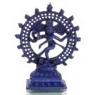 Nataraja Statue blau 22 cm