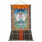 Thangka - Avalokiteshvara 104 x 138 cm