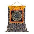 Thangka - Mandala OM 94 x 114 cm