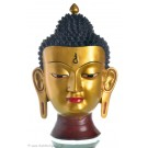 Buddha Mask 39 cm Resin golden