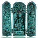 Buddha Box 20 cm Green Tara turquoise