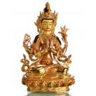 Avalokiteshvara - Chenrezig  22 cm fully gilt Buddha Statue
