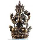 Avalokiteshvara - Chenrezi  4,5 cm Buddha Statue