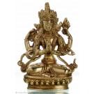 Avalokiteshvara - Chenrezi 14 cm Buddha Statue