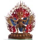 Garuda 27 cm partly fire gilded