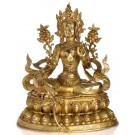 Green Tara Brass 61 cm Statue