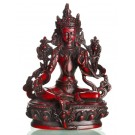 Green Tara Statue 15 cm Resin