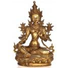 Green Tara 32 cm Statue Brass 2