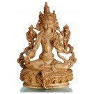 Green Tara 16 cm Resin bone