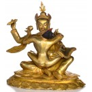 Padmasambhava - Guru Rimpoche with Mandarava 23cm