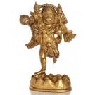 Hanuman Figure 25 cm - brass