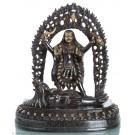 Kali - Dark Brass Statue 36cm