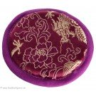 Brocade for Small Singing Bowls purple