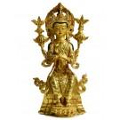 Maitreya 25cm fully fire gilded - Replica
