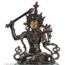 Manjushri - Brass 40cm