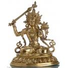 Manjushri - Brass 48cm