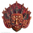 Mahakala Mask 14 cm Resin painted