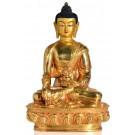 Medicine Buddha 20 cm fully gilt Buddha Statue 2