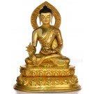 Medizin Buddha Statue antik Replica