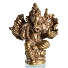 Statue mini Ganesh sitting 2