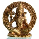 Statue mini Shiva sitting bright