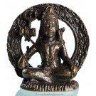 Statue mini Shiva sitting dark