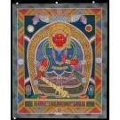 Newari Thangka - Bhimsen 45 x 55 cm