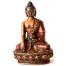 Akshobhya 11,5 cm Buddha Statue Resin coloured